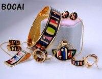 010 перегородчатой эмали ювелирных изделий европейского и американского стиля 4 шт. комплекты