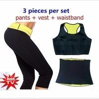 Pants Vest Waist Belt Hot Shaper Super Stretch Neoprene Bodyshaperwear Clothing Set Women S Slimming