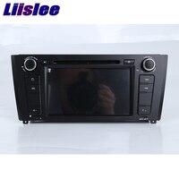 Liislee для BMW 1 серии e81/e82/i20 навигационная GPS стерео проигрыватель аудио видео Радио Navi с BT WI FI DVR am/fm