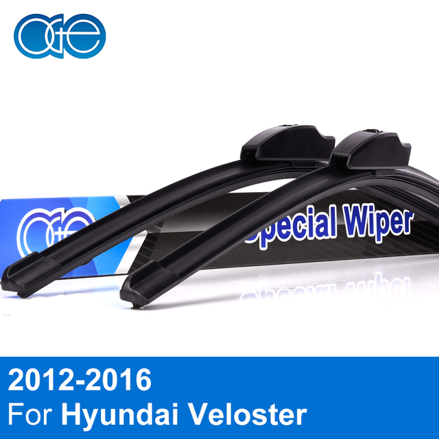 Oge Windscreen Wiper Blades For Hyundai Veloster 2012 2013 2014 2015 2016 Natural Rubber Windshield Car Auto Accessories In Windscreen Wipers From