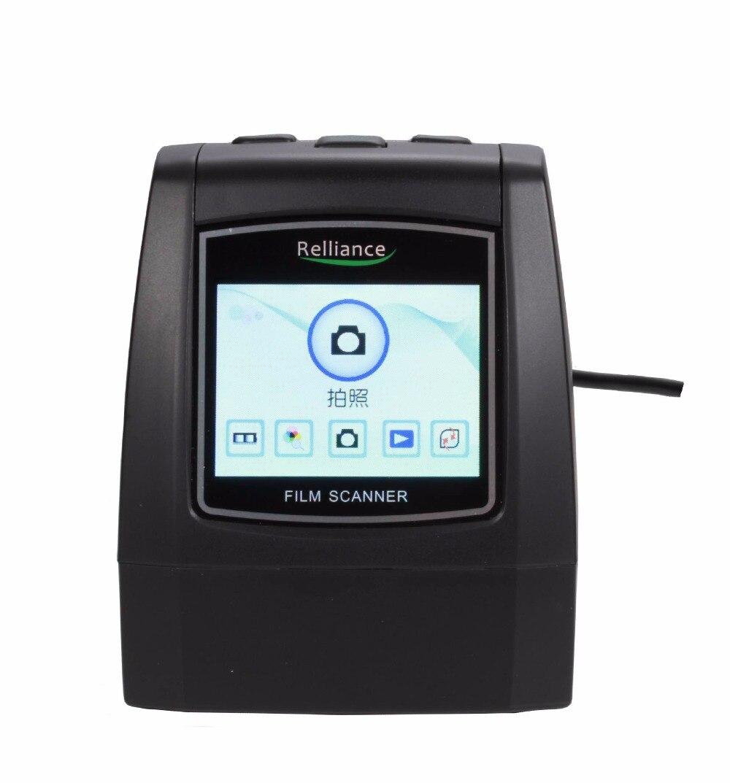 14MP 22MP 135mm Portable SD carte Film scan Photo Scanners Film Négatif Diaporama Spectateur Scanner USB MSDC Film monochrome EC018