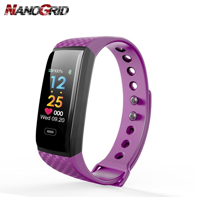 Ny Smart Watch Bluetooth og Message Reminder sportsklip Fitness - Mænds ure - Foto 2