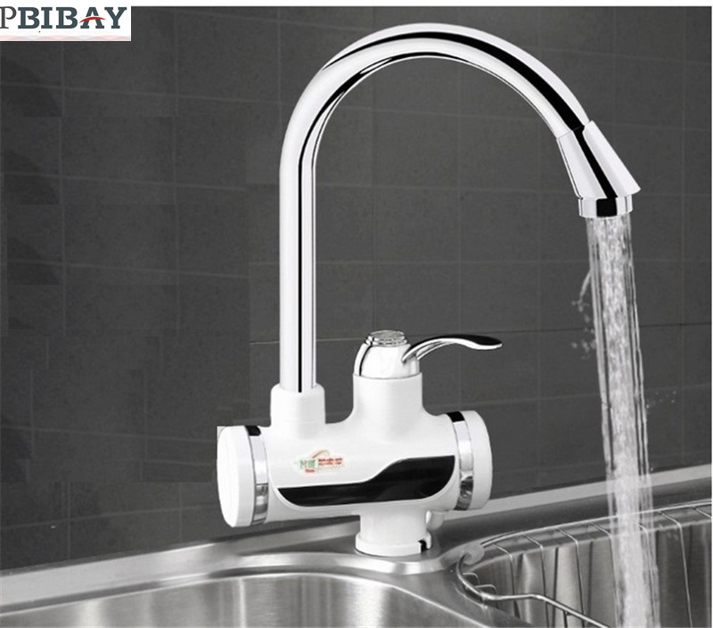 BD3000W-12,free Shipping,Digital Display Instant Hot Water Tap,Tankless Electric Faucet,Kitchen Faucet Water Heater