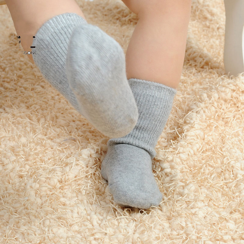 0-24m Kids Wool Warmkeeping Socks Girl Boy Children Sock Kids Short Socks For Unisex Baby Wool Child Sox