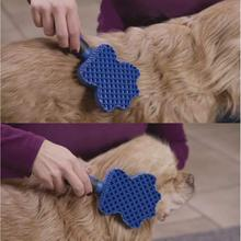 Pet Grooming Comb Tool Pet Hair Cleaning Brush Magic Pet Dog Cat Massage Hair Removal Brush Dog Shedding Comb pet hair deshedding dog cat brush comb sticky hair gloves hair fur cleaning for sofa bed clothe pets dogs cats cleaning tools