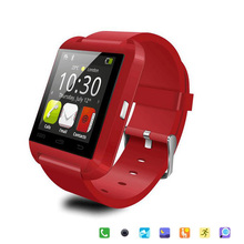 Smartwatch Bluetooth Smart watch Armbanduhr für Apple iPhone IOS Android Telefon Intelligente Uhr Sport Uhr U8 Geschenk Box