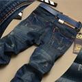 2016 spring and autumn Slim Jeans Men Skinny Men Jeans Jean Homme Pantalones Hombre Vaqueros Jeans Ripped  Famous Brand 1294