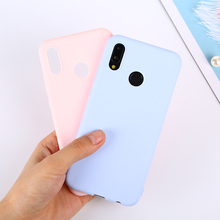 Candy Color Case For Huawei P Smart 2019 P30 Pro P10 P20 Mate 20 Lite 20X Y9 Y6 2018 On Honor 8C 8X Max 10 7A 7C Nova 3i 3 Cover