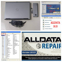 alldata auto repair software 10.53 all data + 2015 Mithcell on Demand Software with atsg installed in D630 laptop 4g 1tb hdd