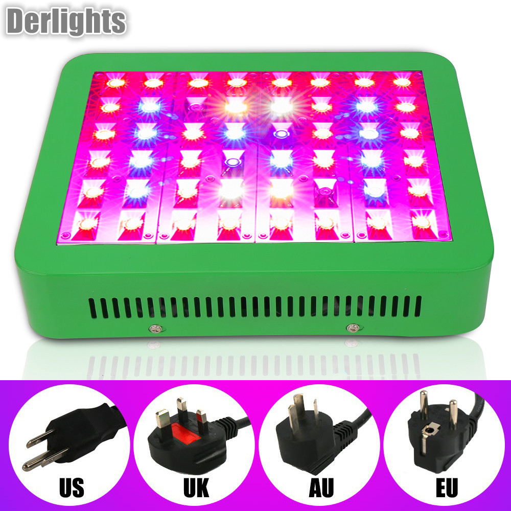 Reflector 300W LED Grow Light Full Spectrum double Switch LED Plant Lamp For Greenhouse Grow Box Hydroponics Indoor Plants led grow light 300w 450w smd 600w 1000w double chips full spectrum 410 730nm plant grow lamps for hydroponics indoor grow box