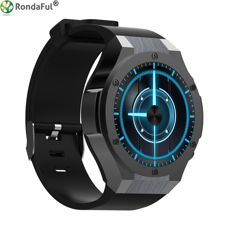 New H2 Rondaful GPS Tracker Smart Watch 3G Internet Watch Phone Heart Rate Monitoring Wifi Sync For IOS And Android Smartwatch no 1 d5 bluetooth smart watch phone android 4 4 smartwatch waterproof heart rate mtk6572 1 3 inch gps 4g 512m wristwatch for ios