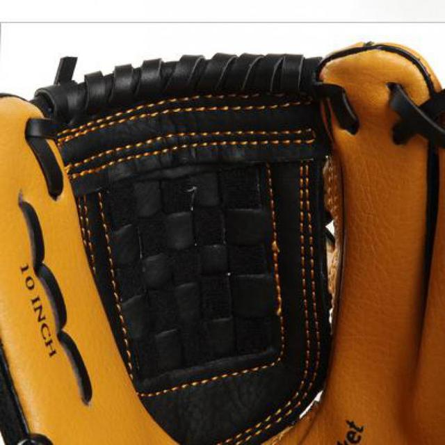 Etto Brand 10 Inches Children Baseball Gloves Left/Right Hand High Quality Professional Baseball Training Gloves For Kids 5