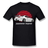 Fashion Streetwear Men S Skyline GTR R34 T Shirt Round Neck Classi Car Design For Homme