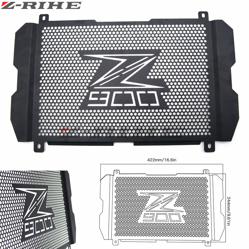 For Kawasaki Z900 Z 900 z900 New Motorcycle Stainless Steel Radiator Grille Guard Protection  For Kawasaki Z900 Z 900 z900 2017 kemimoto radiator guard for kawasaki z900 2017 radiator grill protector for kawasaki z 900 2017 moto motocycle parts accessories
