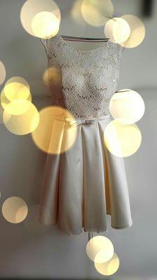 Robe de soiree 2019 korte kant plus size lace up avondjurk vestido de - Jurken voor bijzondere gelegenheden - Foto 6