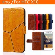 Pour Coque Funda HTC X10 Cas Couverture Magnétique Flip En Cuir Téléphone Cas pour HTC Un X10 E66 5.5 pouce Fente Pour Carte Portefeuille Étui Couverture