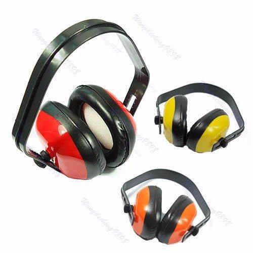 Adjustable Headstrap Earmuffs Headset Ear Muff Muffler Noise Hearing Protector Hot #
