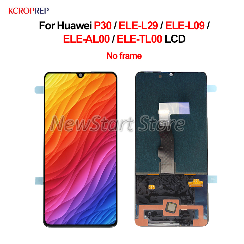 For Huawei P30 LCD Display Touch Screen Digitizer Assembly 6 1 No Frame For Huawei P30