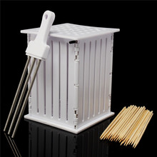 Brochette Express Food Meat Beef Slicer For Barbecue BBQ Tool Kit For Grill Kebad Making 36 Skewers Holes