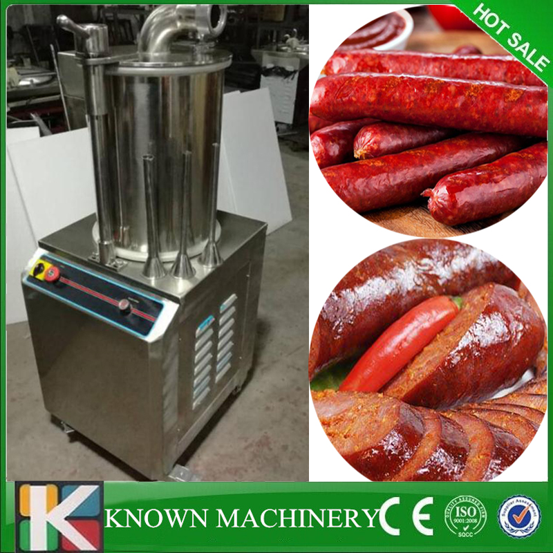 304 Stainless Steel sausage making machine hydraulic sausage filler maker ham sausage making machine free shipping