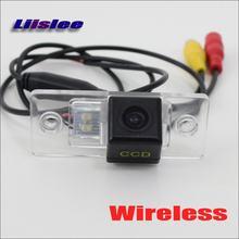 Câmera traseira do carro de wifi rca/aux para vw gli/sagitar/vento 2005-2011 hd/ccd visão noturna