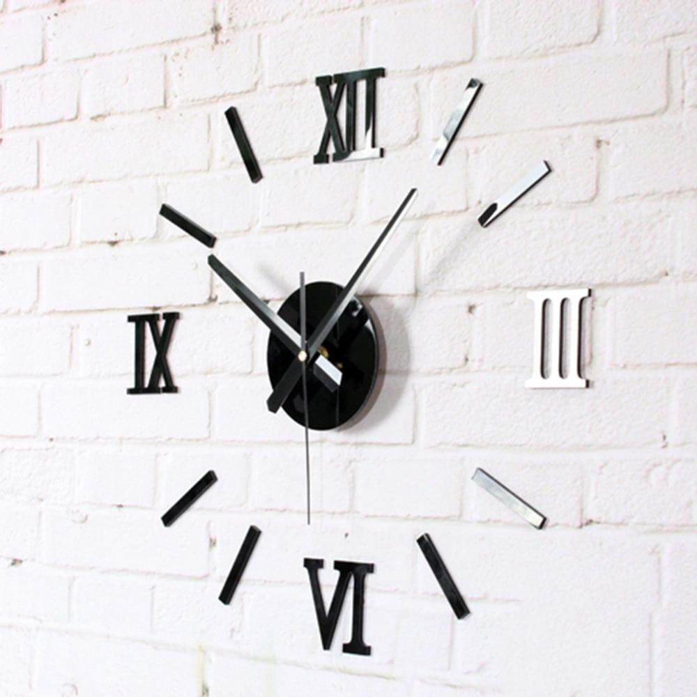 Digital Clock Desk Table Digital Wall Clock Small Office  Diy Flip Horloge Murale Grande Taille Wall Clocks Home Decor Cat