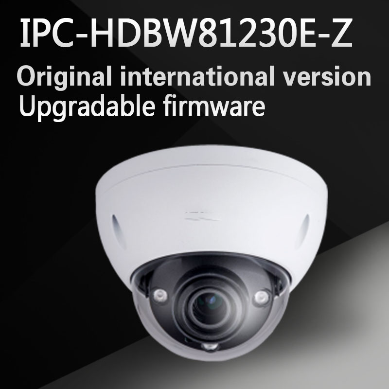 цены New Arrival 4k 12MP Dahua IP Camera IPC-HDBW81230E-Z IR Dome Camera motorized lens Support POE and SD card without logo