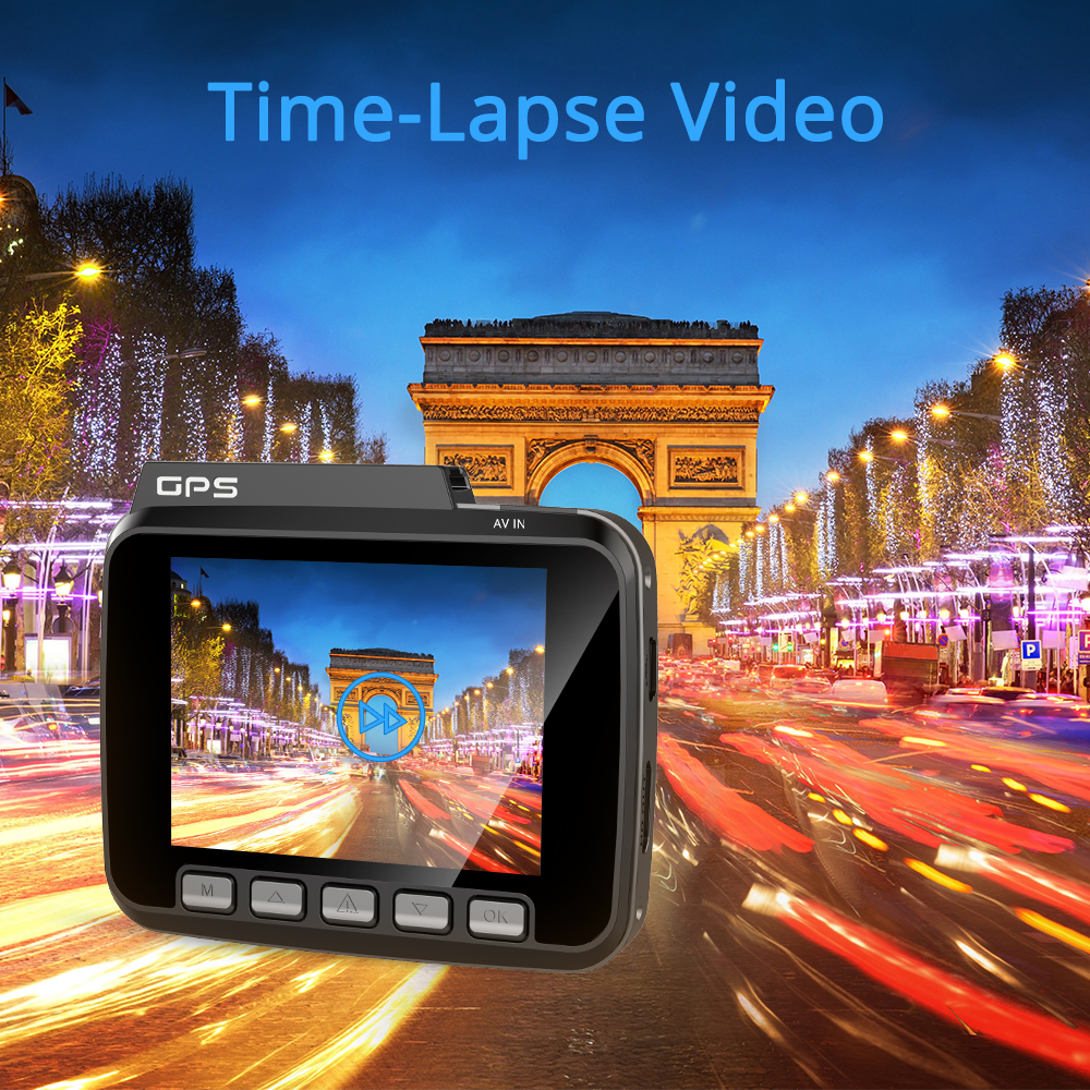 4K WiFi GPS Dash Camera Full HD - GS63H 12