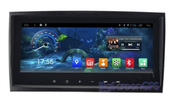 Android6.0 RAM 2GB Car No DVD Player GPS Navigation For Mercedes Benz SLK Class R171 W171 SLK200 SLK280 SLK350Headunit Autoradio image