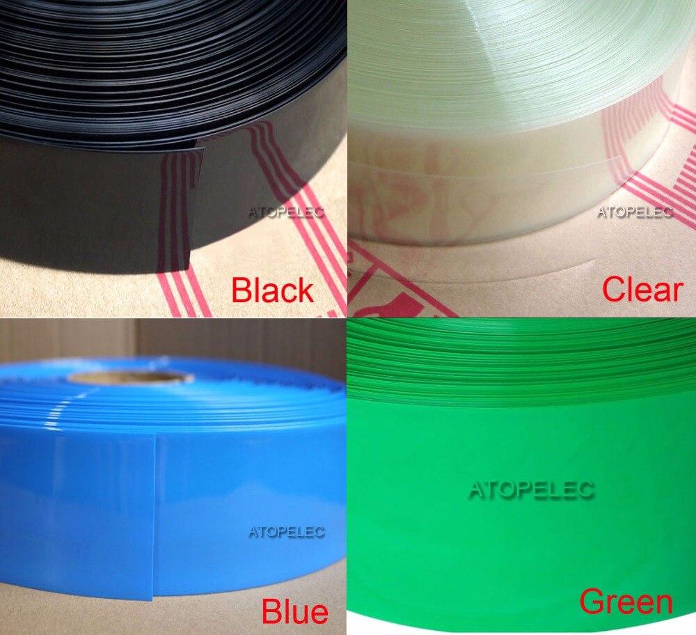 6.5mm HEATSHRINK TUBE SLEEVE TUBING BLACK WHITE CLEAR RED BLUE YELLOW GREEN