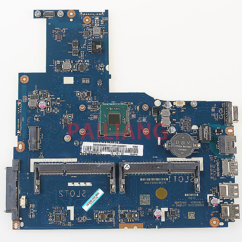 PAILIANG Laptop moederbord voor B50 30 PC Moederbord ZIWB0/B1/E0 LA B102P 15 inch volledige tesed DDR3-in Moederborden van Computer & Kantoor op AliExpress - 11.11_Dubbel 11Vrijgezellendag 1