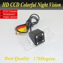 Night vision Câmera de Visão Traseira Do Carro para VW Touareg/Tiguan/Polo/Fabia/Pors-che Caiena-À Prova D' Água, Visão noturna