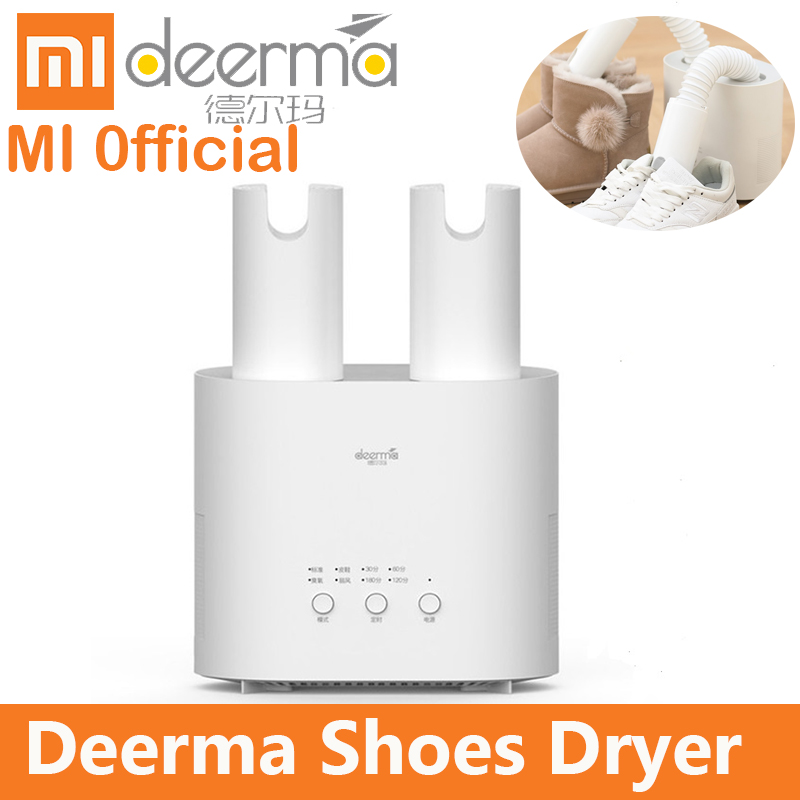 Xiaomi mijia Deerma Shoes Dryer Multi Function DEM HX20 Intelligent Retractable Multi effect Sterilization U shape
