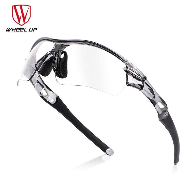 цена на Half Frame Photochromic Cycling Goggles Polarized Sports Sunglasses Men Women MTB Mountain Road Bicycle Eyewear Cycling Glasses