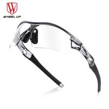 Half Frame Photochromic Cycling Goggles Polarized Sports Sunglasses Men Women MTB Mountain Road Bicycle Eyewear Cycling Glasses