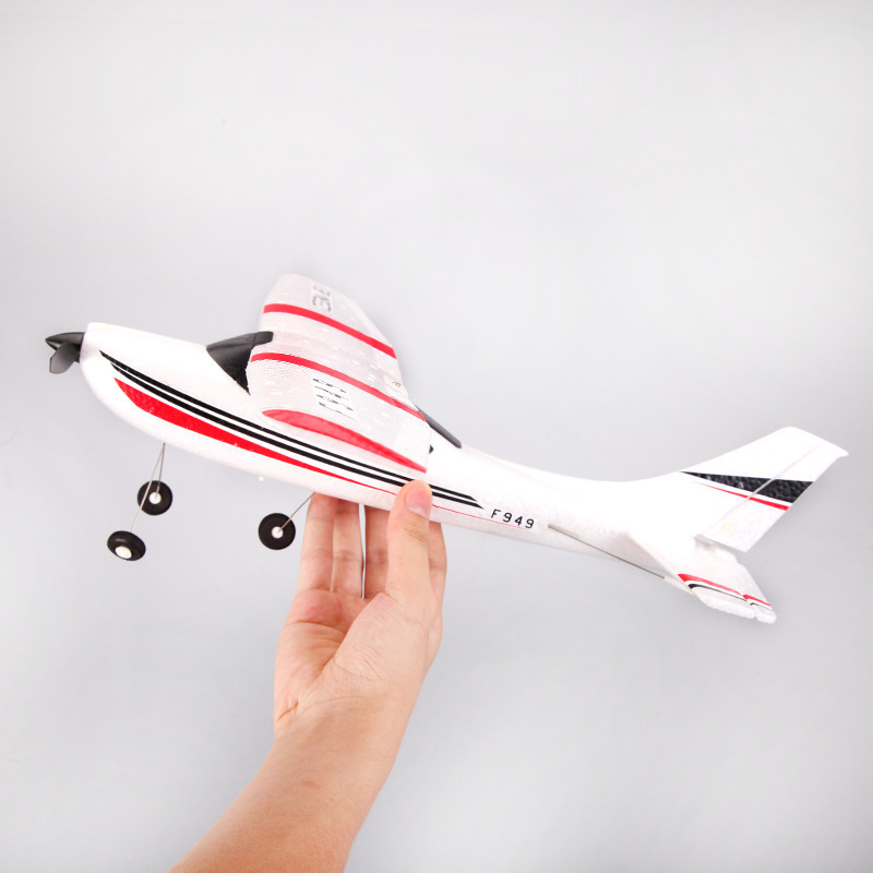 2019 WLtoys F949 Sky King 2.4G RC Aircraft Fixed-wing RTF Airplane Radio Remote control Plane 3CH RC Fixed Wing WL F949 drone (Original Box)