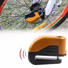 Bicycle Bike Mini Electron Alarm Disc Brakes Lock Mountain Bike Road Racing Bike Anti Theft Security Accessories