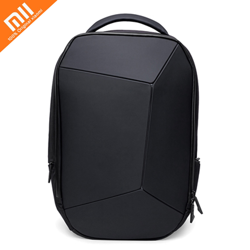 Authentic Xiaomi Geek Backpack Waterproof 15.6 inch laptop Zipper Design  Bags Business Travel Using For Teenager 710098718b2ba