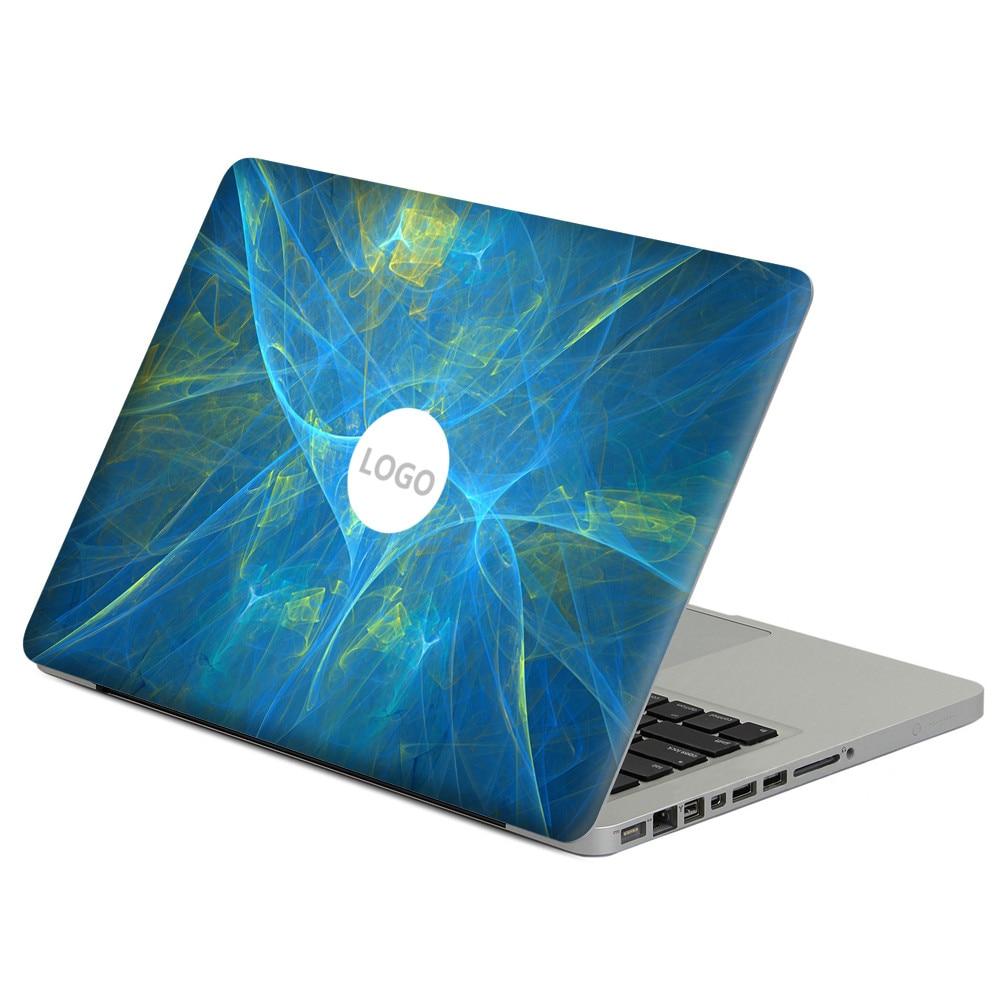 Dazzling blue ligh Laptop Decal Sticker Skin For MacBook Air Pro Retina 11 13 15 Vinyl Mac Case Notebook Body Full Cover Skin