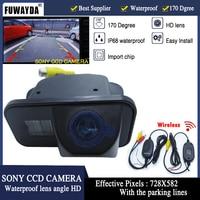 FUWAYDA Wireless SONY CCD Car Rear View Reverse Parking CAMERA for TOYOTA SIENNA/SCION XB XD/URBAN CRUISER/AURIS/SIENNA HD