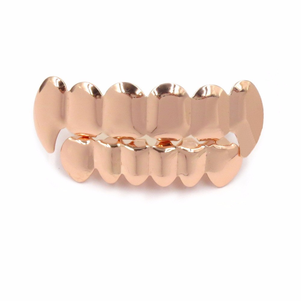 TOPGRILLZ-Real-Shiny-Gold-Silver-Plated-HIP-HOP-Teeth-Grillz-Top-Bootom-Groll-Set-With-silicone (3)