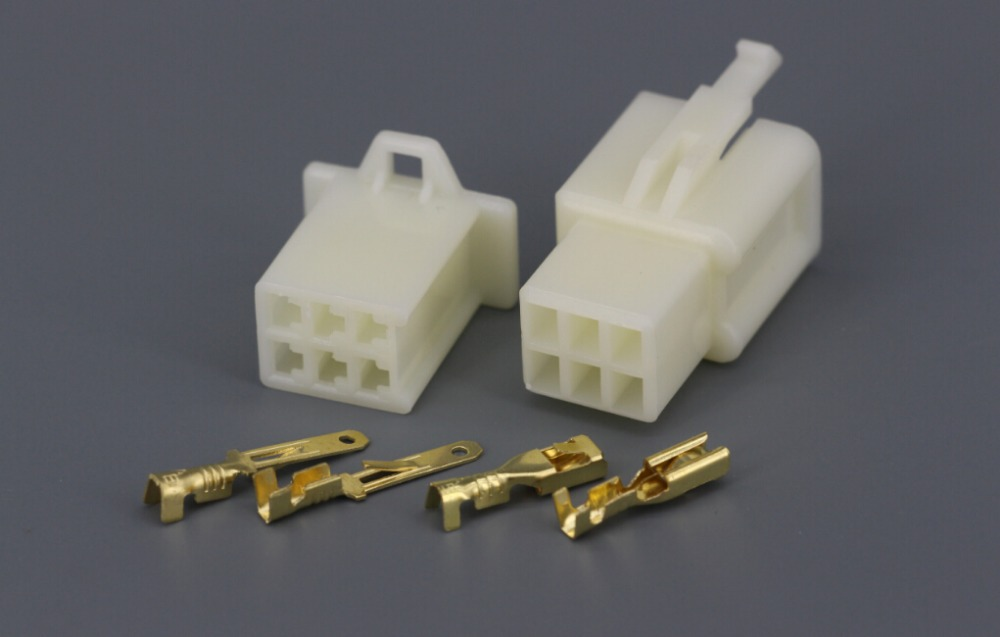 10 Sets Kit 2 8 Series 6 Pin Way Dj A 2 8 Electrical