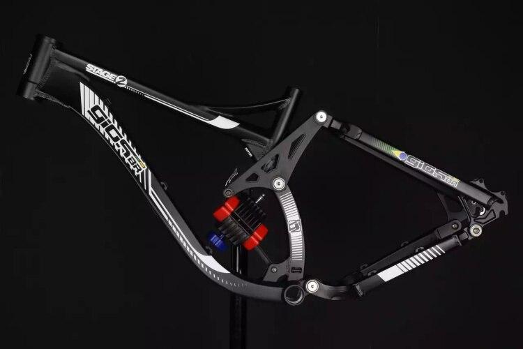 GIOSBR STADE 2 FR DH Vtt vélo descente cadre sans Choc