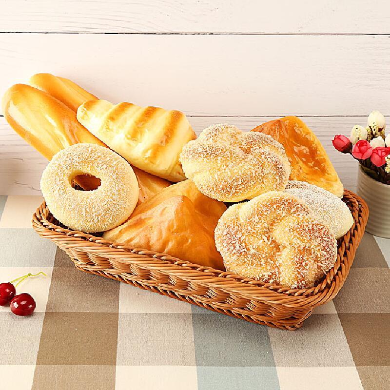 Children PU Slow Rebound Pretend Play Bread Doughnut Miniature Kitchen Toy  Children Gift
