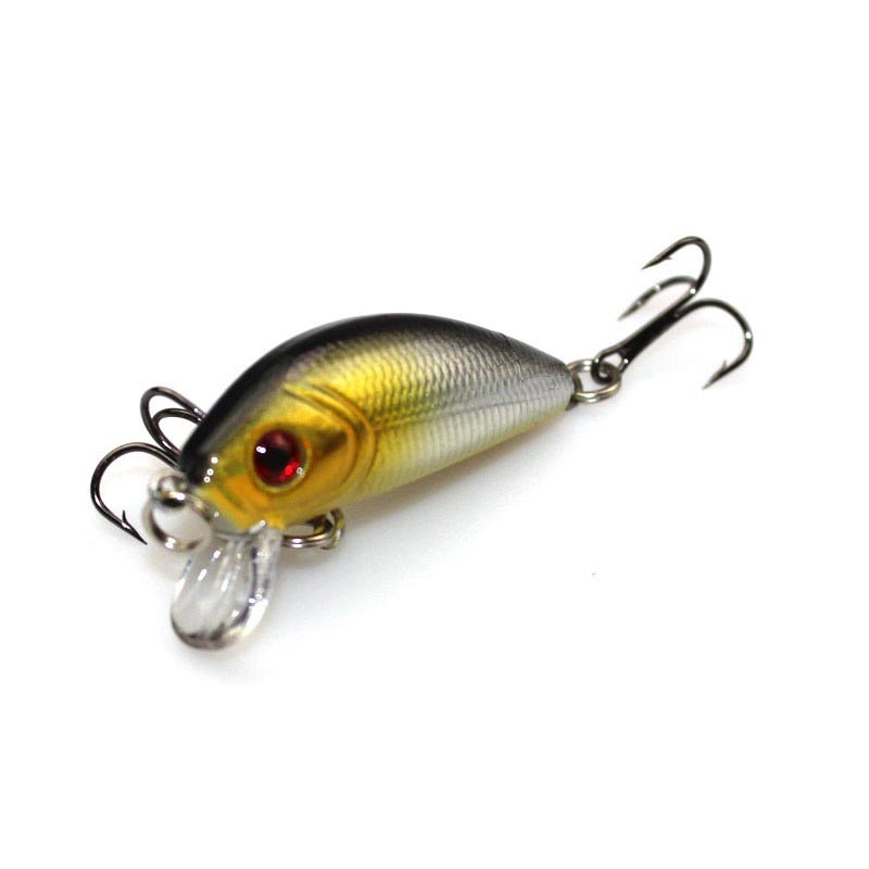 5cm striped bass floating minnow lure artificial fish