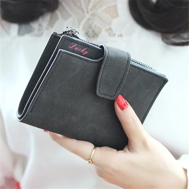 Women's Fashion Letters Decorated Mini Wallets