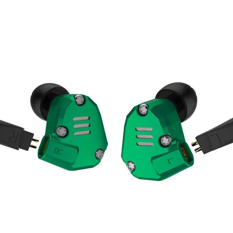 KZ ZS6 2DD+2BA Hybrid In Ear Earphone HIFI DJ Monito Running Sport Earphone Earplug Headset Earbud KZ ZS5 Pro Pre-sale