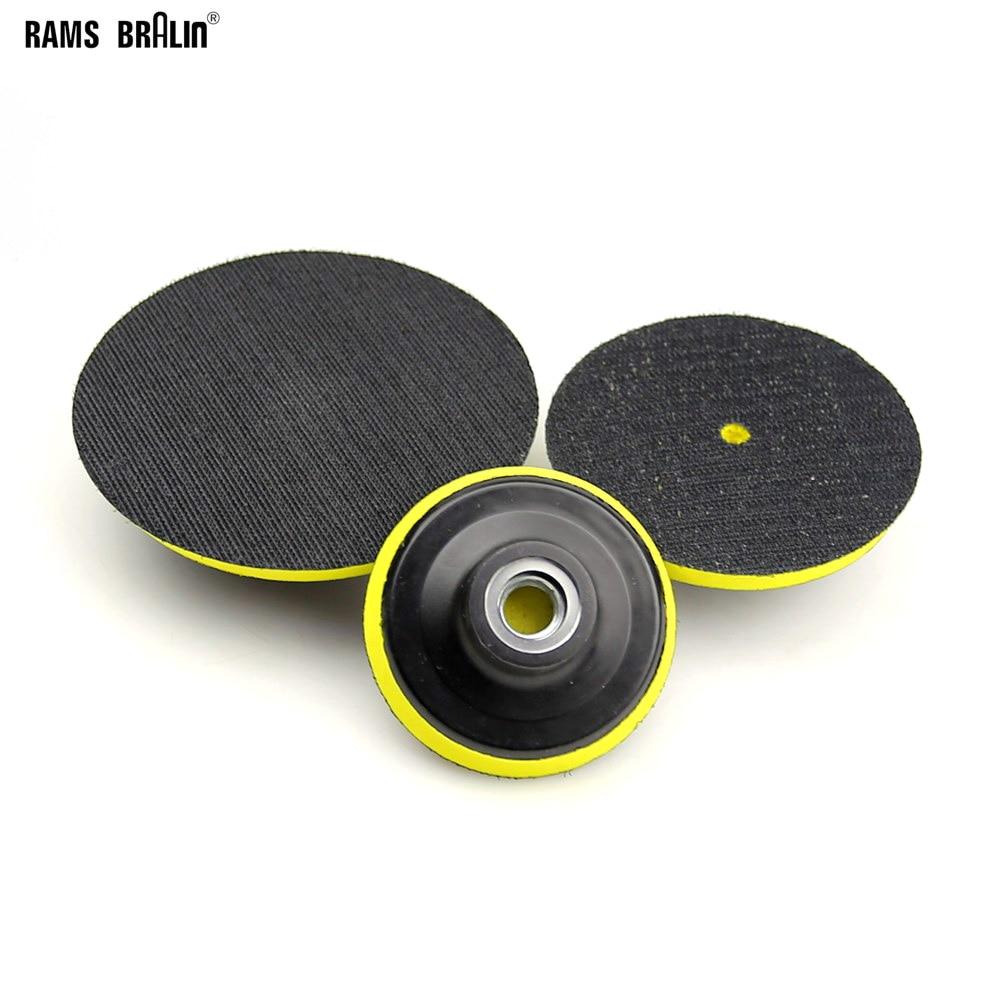 "1/"" Sanding Disc Holder Roloc Roll /& Lock Rotary Pad Holder 6mm Shank-CH"