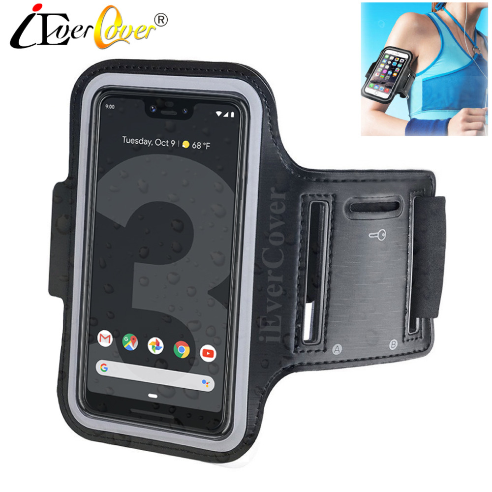 reputable site 694a3 310de US $3.03 24% OFF|Sport Running Cycling Arm Band Case for Google Pixel 3 2 /  Pixel 3 XL Phone Waterproof PU Leather Cover Pouch Bag Capa Fundas-in ...