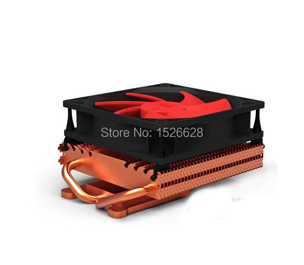 100mm fan 2 heatpipe Graphics cooler, for nVIDIA / ATI graphics card cooler cooling VGA fan, VGA radiator, PcCooler K101D computer radiator cooler of vga graphics card with cooling fan heatsink for evga gt440 430 gt620 gt630 video card cooling